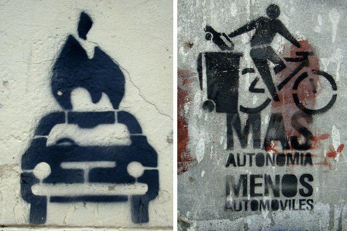 bicycle graffiti buenos aires buenosairesstreetart.com