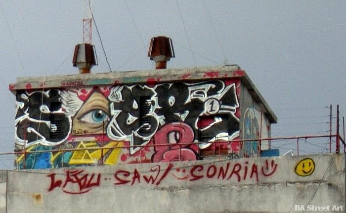 graffiti tour buenos aires buenosairesstreetart.com street art rooftop chacarita
