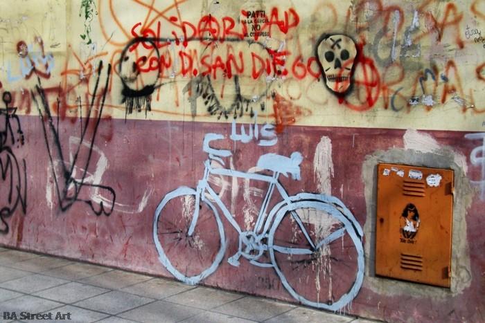 mejor por bici stencil grafiti better by bike buenos aires street art buenosairesstreetart.com