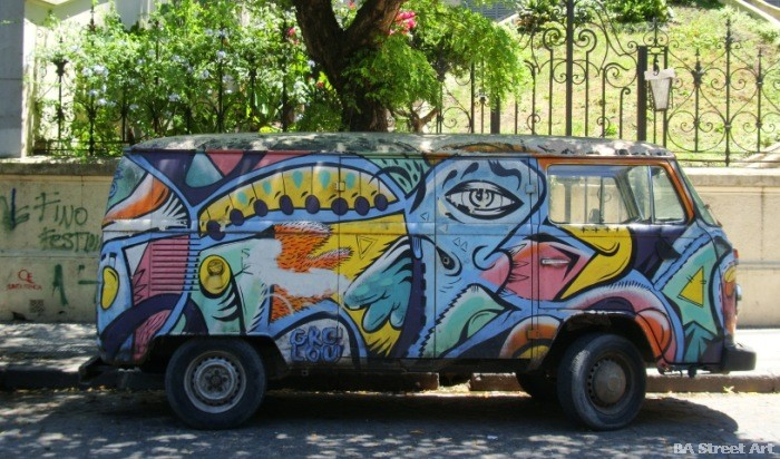 van graffiti buenos aires grolou buenosairesstreetart.com