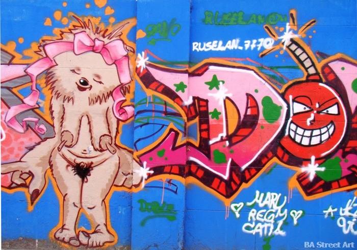 cat graffiti buenosairesstreetart.com graffiti stencil buenos aires street art © BA Street Art