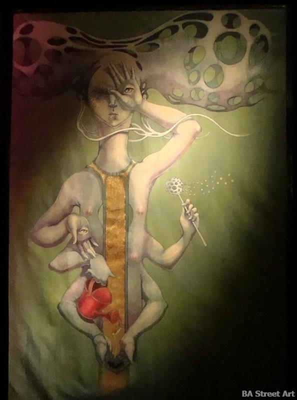 Georgina Ciotti artista cuadros paintings © buenosairesstreetart.com