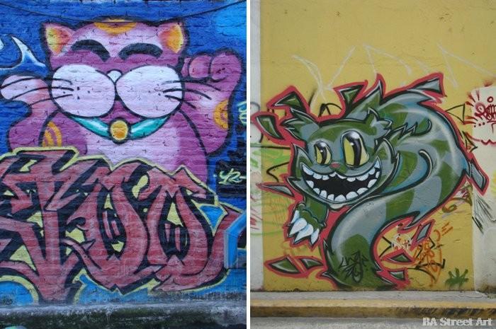 cat graffiti buenosairesstreetart.com buenos aires street art tour