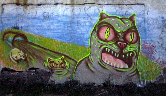 san telmo graffiti mondo lila buenosairesstreetart.com street art tour buenos aires