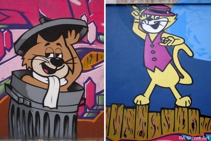 top cat graffiti buenos aires street art tour buenosairesstreetart.com