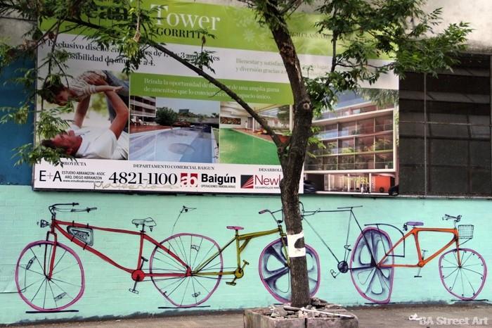 Mart artista entrevista bici buenos aires street art graffiti buenosairesstreetart.com