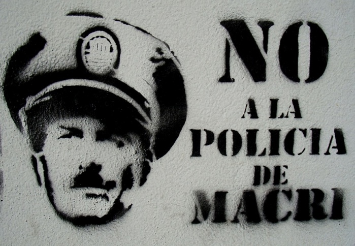 ant macri graffiti no a la policia de macri buenos aires graffiti buenosairesstreetart.com