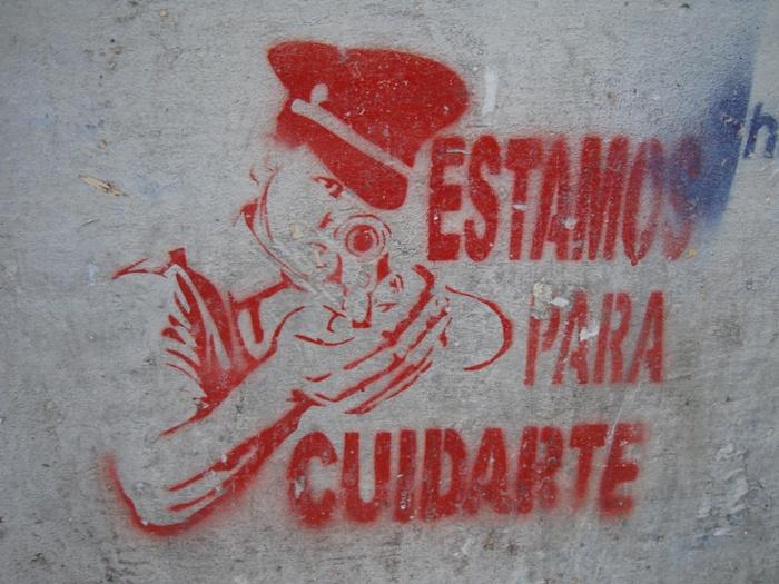 graffiti police buenos aires buenosairesstreetart.com BA Street Art