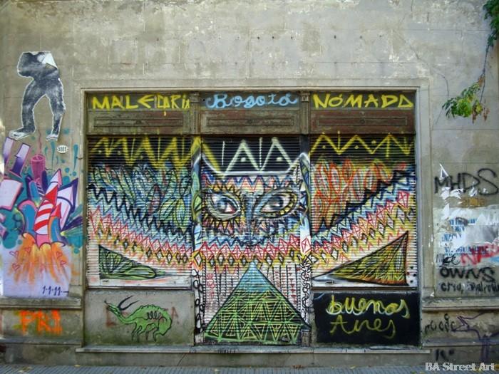 malegria nomada street artist interview buenos aires street art tour murales buenosairesstreeetart.com