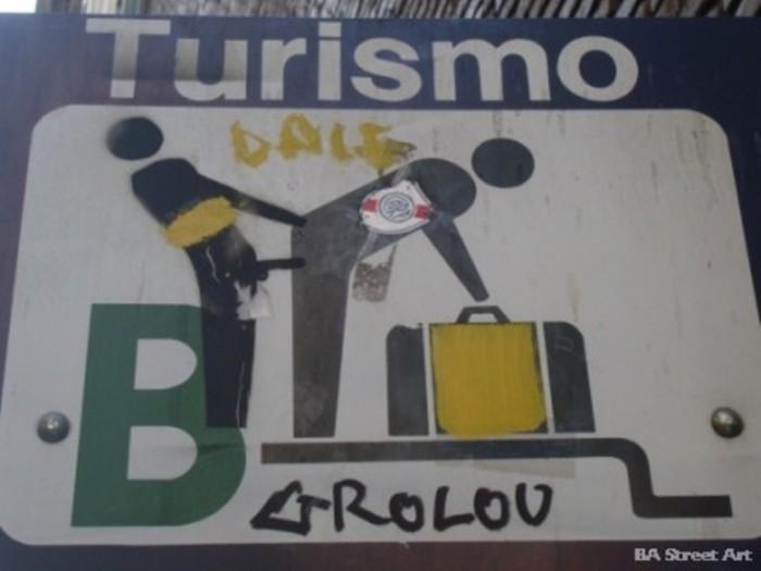 Boca Juniors graffiti Buenos Aires street art © buenosairesstreetart.com grolou