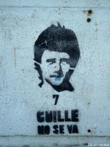 Boca Juniors graffiti Guille Barros Schelotto Buenos Aires street art © buenosairesstreetart.com 8