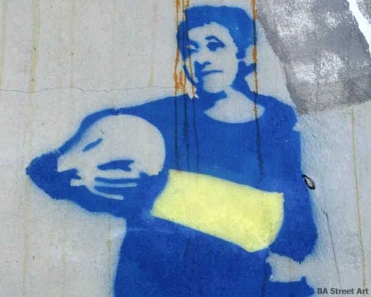 Boca Juniors graffiti buenos aires © buenosairesstreetart.com BA Street Art