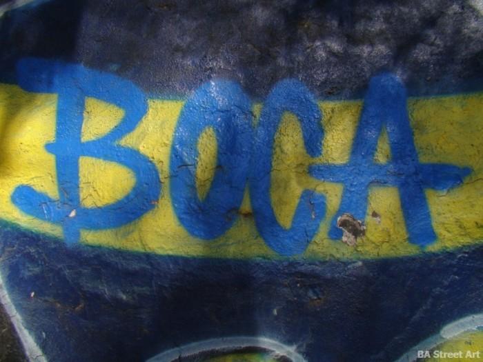 Boca Juniors mural colores BA Street Art buenos aires graffiti tour buenosairesstreetart.com