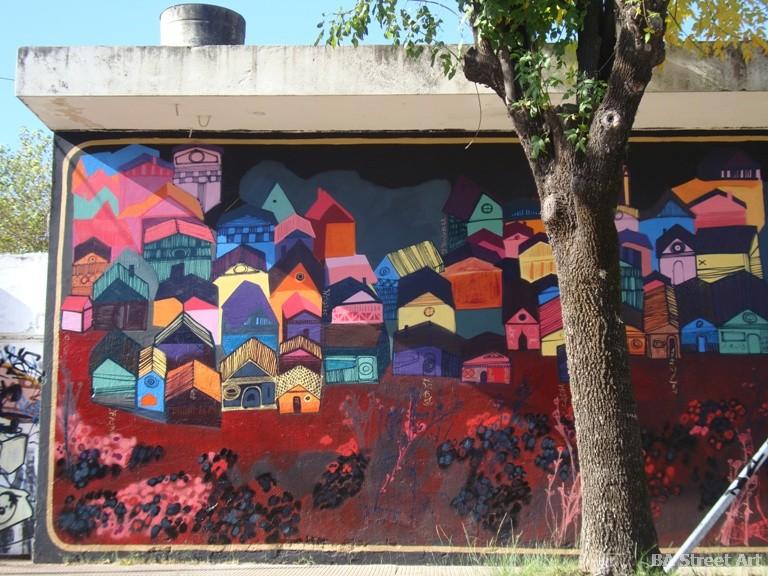 triangulo dorado murals buenos aires street art buenosairesstreetart.com BA Street Art Tours