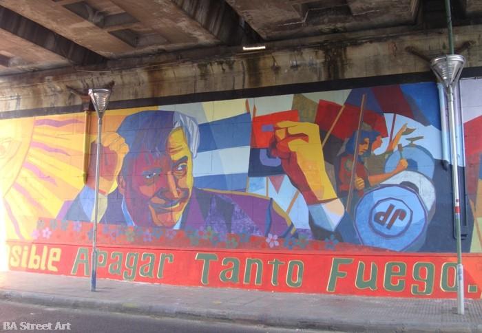 Nestor Kirchner political mural graffiti buenos aires street art © buenosairesstreetart.com