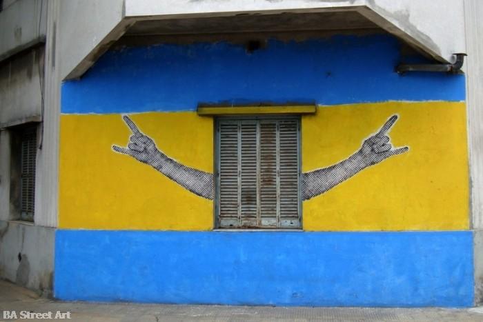 boca juniors graffiti orilo buenos aires street art buenosairesstreetart.com