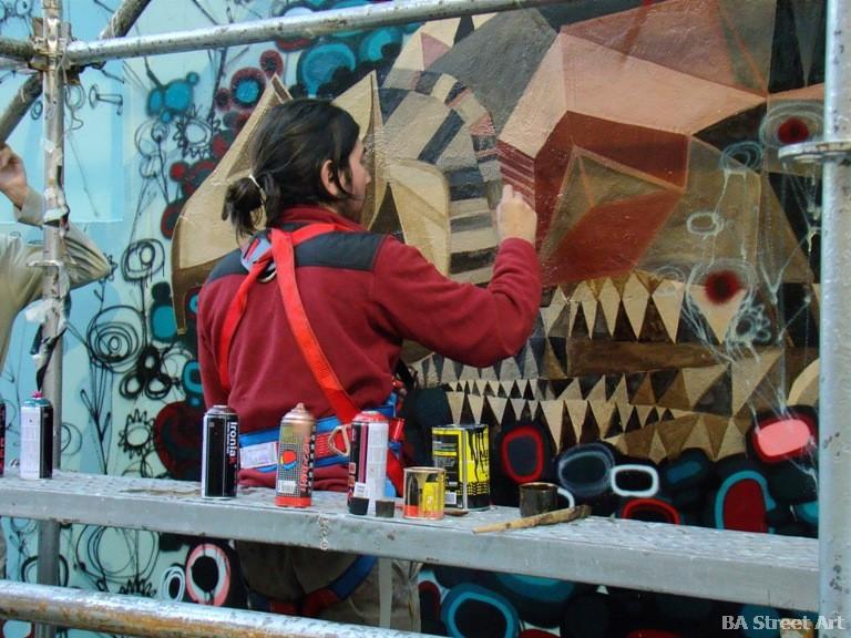 triangulo dorado murales buenos aires street art buenosairesstreetart.com BA Street Art tours