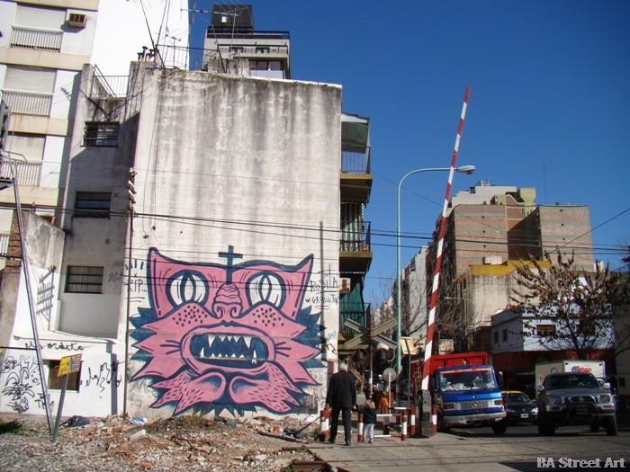 graffiti buenos aires grolou BA Street Art buenosairesstreetart.com