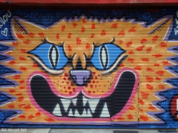 graffiti grolou buenos aires © buenosairesstreetart.com Grolou artista