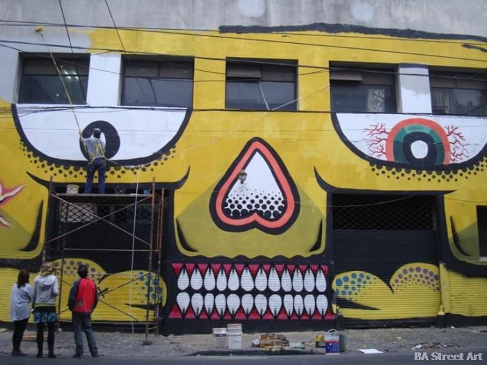 grolou graffiti tour buenos aires street art buenosairesstreetart.com