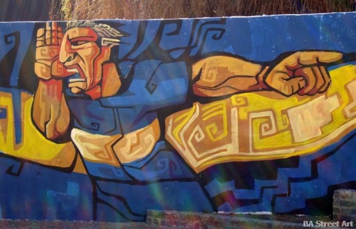 martin palermo mural la boca buenosairesstreetart.com buenos aires street art tour