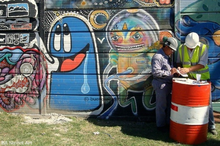 Graffiti Argentina Buenos Aires © BA Street Art tour lover baba buenosairesstreetart.com