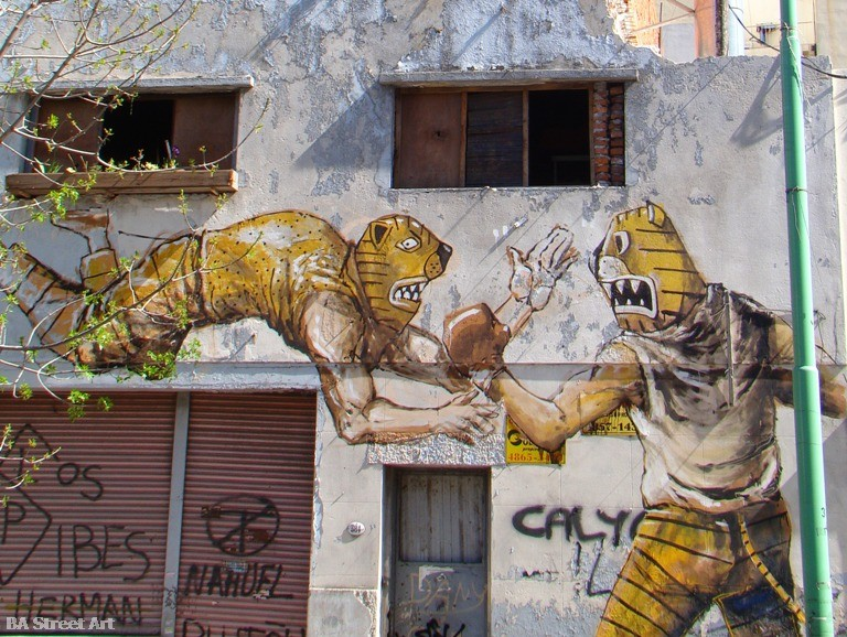 Jaz entrevista franco fasoli artista buenos aires graffiti argentina tour © buenosairesstreetart.com