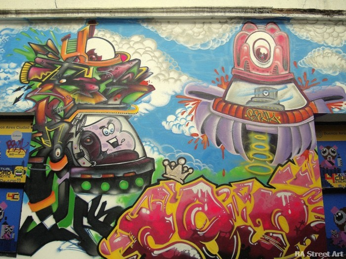 ciudad emergente centro cultural recoleta buenosairesstreetart.com buenos aires graffiti tour