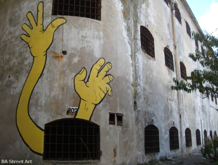 gualicho street artist buenos aires interview intervenciones miguelete buenosairesstreetart.com