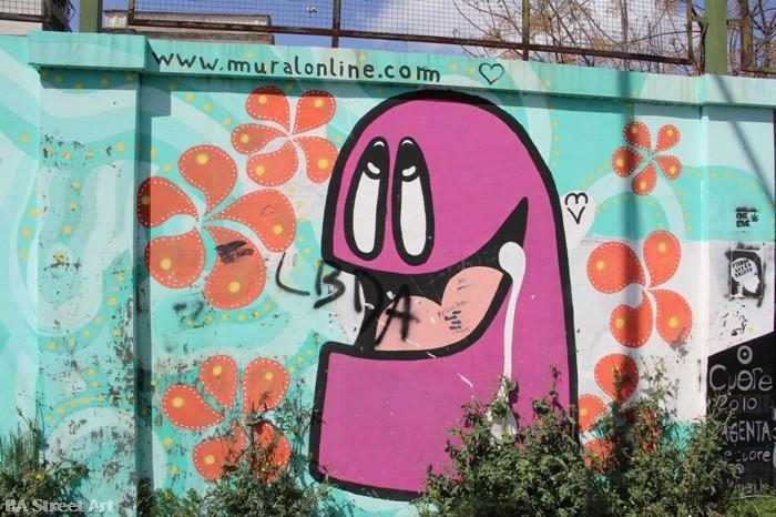 lover baba buenos aires street art buenosairesstreetart.com intervencion magenta la plata