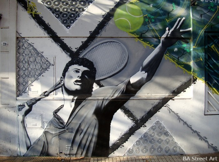tennis street art buenos aires graffiti tour buenosairesstreetart.com