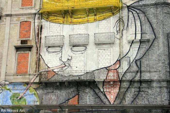 blu lisbon crono festival buenosairesstreetart.com © Buenos Aires Street Art