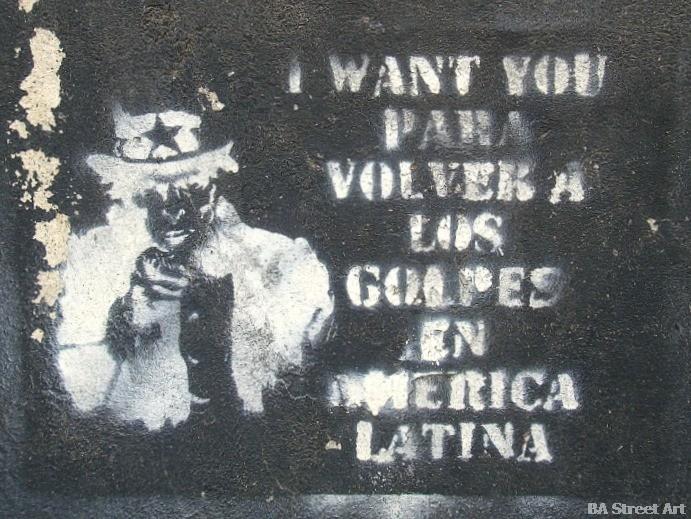 Anti america graffiti buenos aires street art © buenosairesstreetart.com