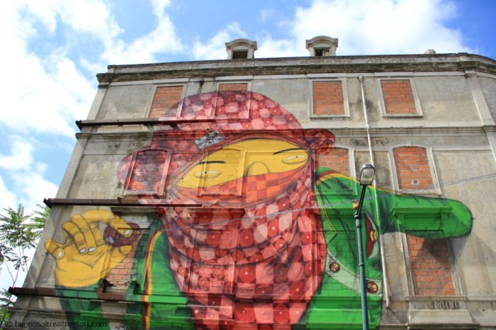 Blu Os Gêmeos Lisbon street art buenos aires © buenosairesstreetart.com