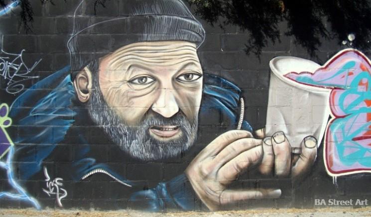 Ice street artist buenos aires graffiti tour buenosairesstreetart.com BA Street Art