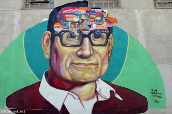 Ever argentine street artist buenos aires artista callejero buenos aires street art tour argentina © buenosairesstreetart.com