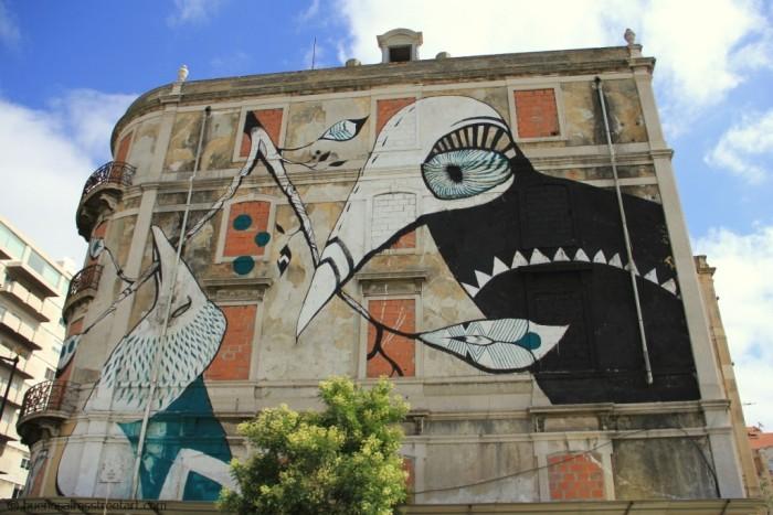 street art tour lisbon Lucy Mclauchlan © buenosairesstreetart.com