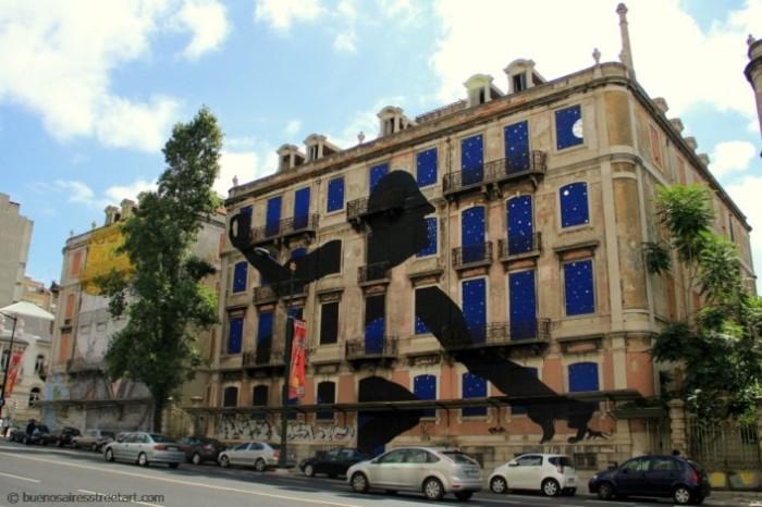Sam3 Lisbon street art tour © BA Street Art buenosairesstreetart.com