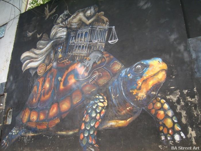 jewish tour buenos aires Kol-kir AMIA Villa Crespo street art murals buenosairesstreetart.com