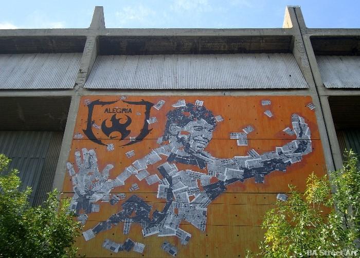 aguero graffiti buenos aires street art tour kun aguero buenosairesstreetart.com BA Street Art