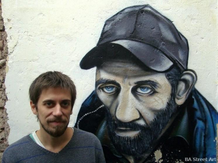 Ice graffiti artist argentina buenos aires street art © buenosairesstreetart.com
