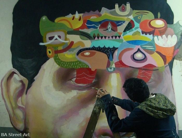 ever street artist buenos aires murales © buenosairesstreetart.com BA Street Art Tours