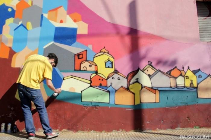 corona artista callejero buenos aires street art © buenosairesstreetart.com