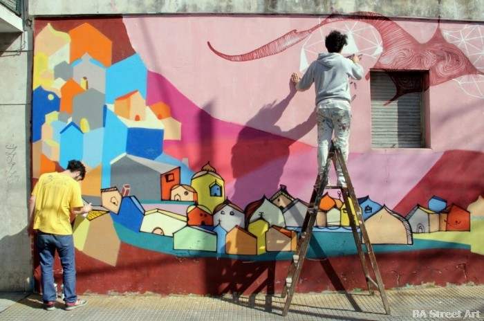 roma corona arte urbano buenos aires street art © buenosairesstreetart.com