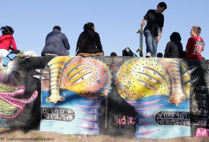 buenos aires skate graffiti rodez graffiti skate park ene ene ta© buenosairesstreetart.com