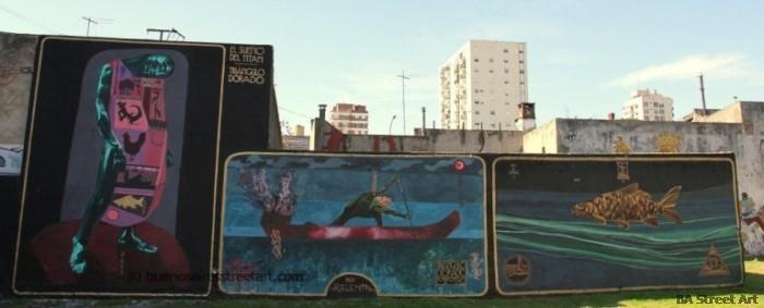 triangulo dorado murales buenos aires street art © buenosairesstreetart.com BA Street Art Tour