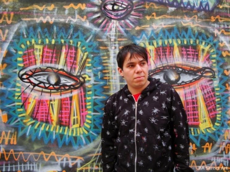 Malegria entrevista artista buenos aires graffiti tour © buenosairesstreetart.com