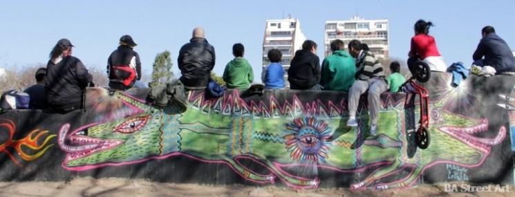 argentina graffiti buenos aires buenosairesstreetart.com malegria BA Street Art Tours