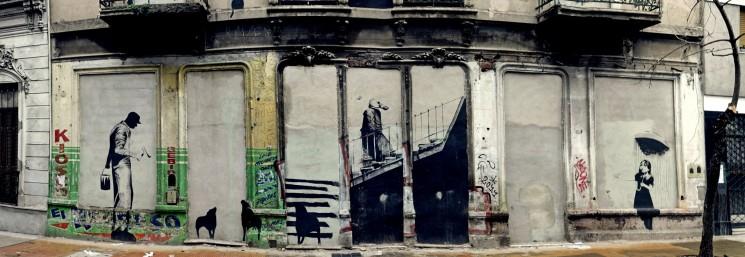 banksy buenos aires graffiti tour BA Street Art buenosairesstreetart.com