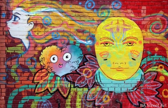 buenosairesstreetart.com buenos aires graffiti tour stenciles pegatines